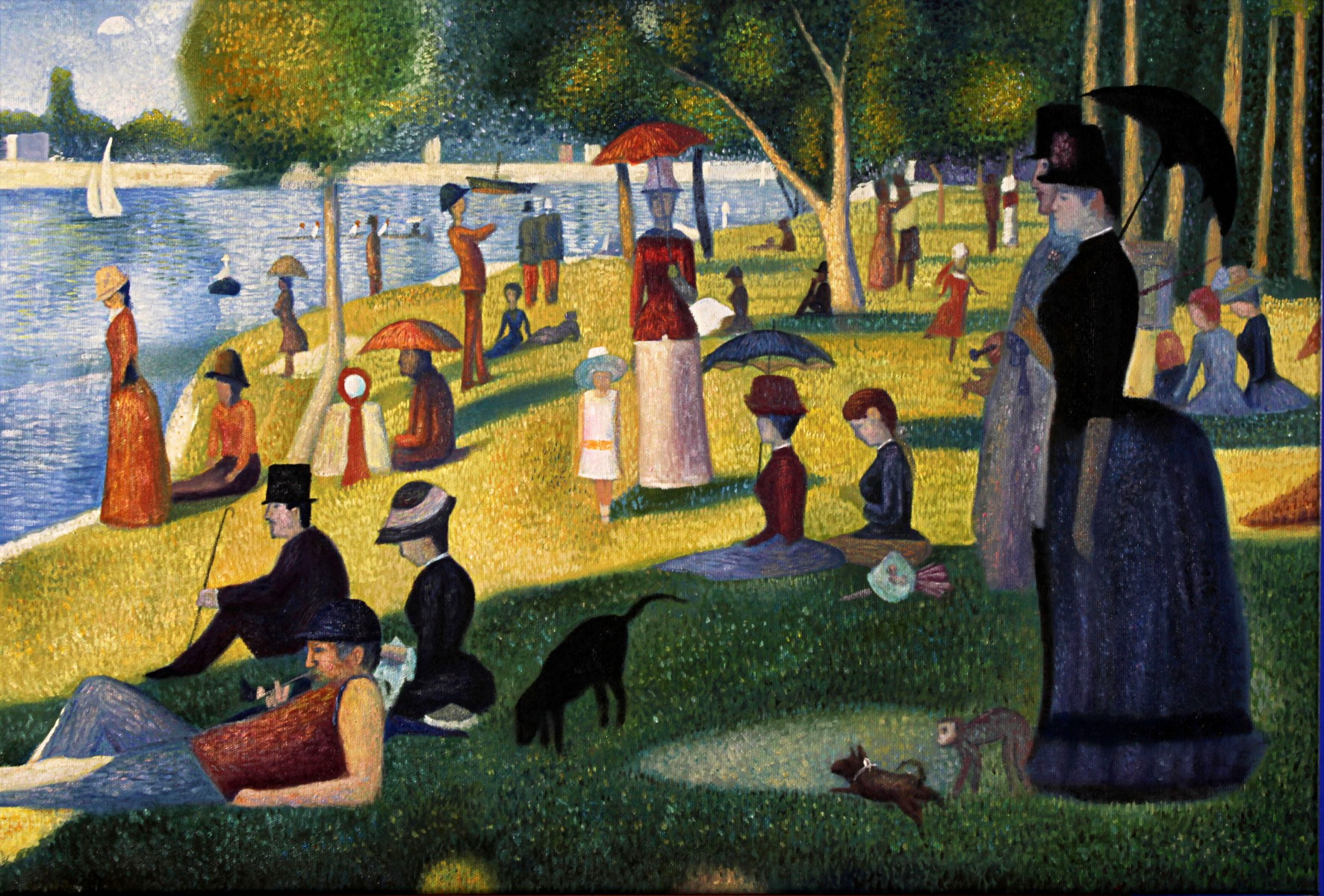 Pictures Of Georges Seurat Paintings